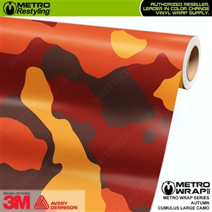 large cumulus autumn camo wrap