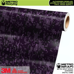 Digital Darkwing Camouflage Vinyl Car Wrap Film