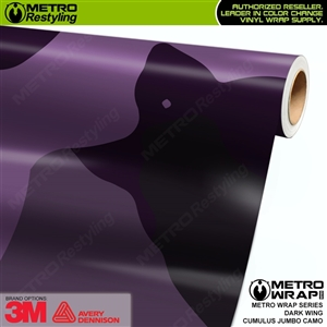 Jumbo Cumulus Darkwing Camouflage Vinyl Car Wrap Film