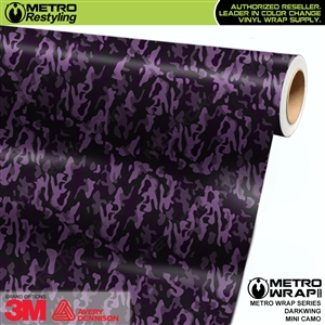 Mini Darkwing Camouflage wrap car vinyl film
