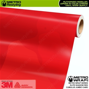 elite shadow red jumbo camouflage vinyl wrap film
