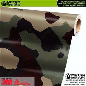 large cumulus militant blood camouflage wrap