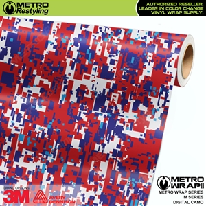 digital m series camouflage vinyl wrap