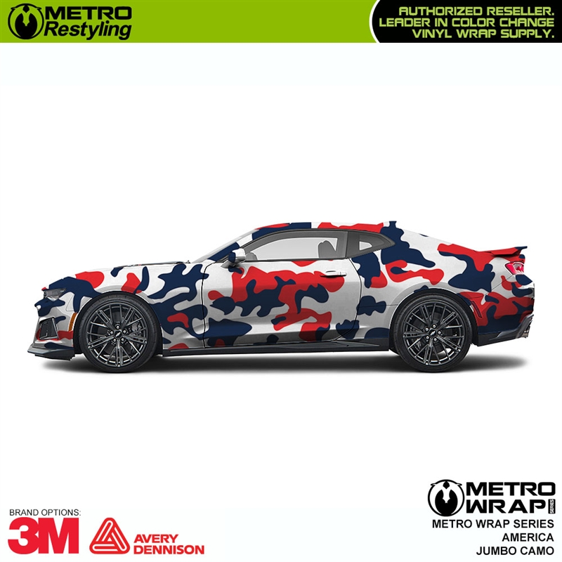 Jumbo America Is A Camouflage Vehicle Wrap Vinyl That