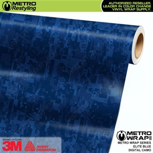 MINI BLUE URBAN NIGHT Camouflage Vinyl Vehicle Car Wrap Camo Film Sheet Roll