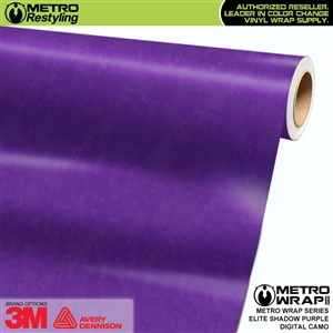Digital Elite Shadow Purple Camouflage Vinyl Vehicle Wrap Film