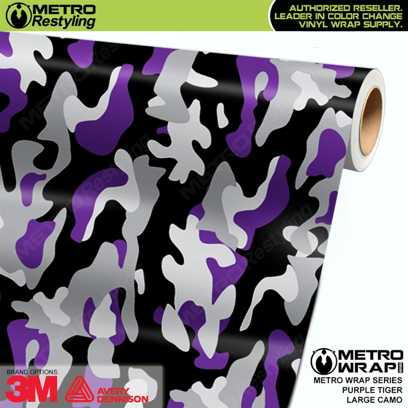 2012151209 Large Purple Tiger Camouflage is a vehicle wrap vinyl film made up ...