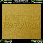 Metro Coarse Brushed Gold Vinyl
