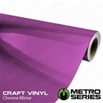 purple chrome car wrap 12in width