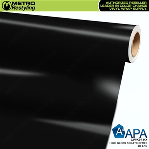 APA Vehicle Wrap Film | Gloss Scratch Free Black HS | CW/K97-HX