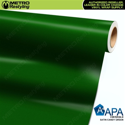 APA Vehicle Wrap Film | Satin Candy Green | CW/SK84.0