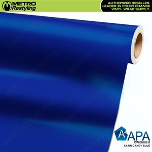 APA Vehicle Wrap Film | Satin Candy Blue | CW/SK86.0