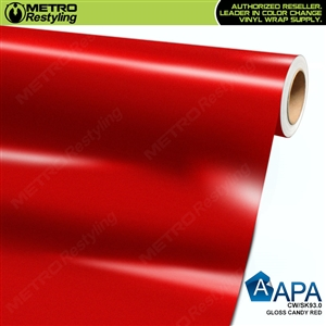 APA Vehicle Wrap Film | Gloss Candy Red | CW/SK93.0