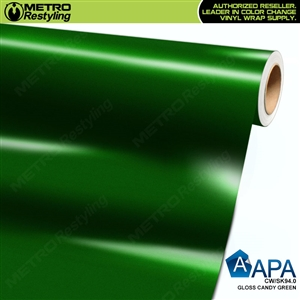 APA Vehicle Wrap Film | Gloss Candy Green | CW/SK94.0