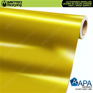 APA Vehicle Wrap Film | Gloss Candy Lime | CW/SK95.0