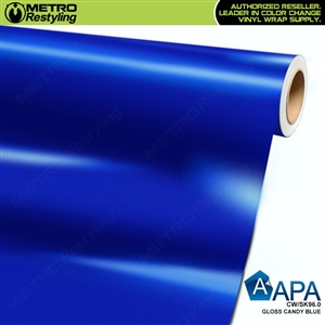 APA Vehicle Wrap Film | Gloss Candy Blue | CW/SK96.0