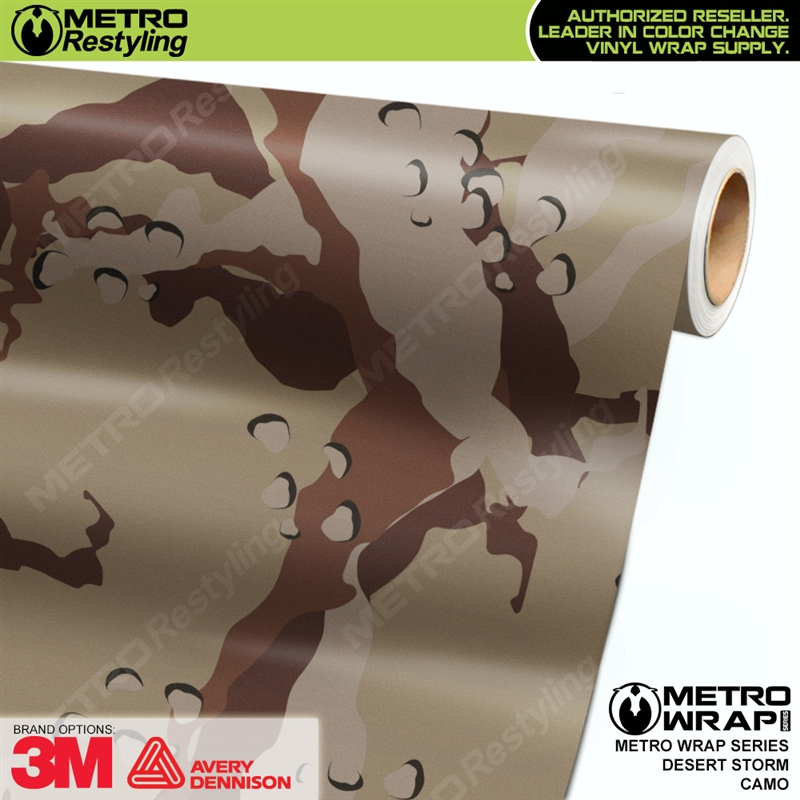 Desert Storm Is A Camo Vehicle Wrap Vinyl Printed With A