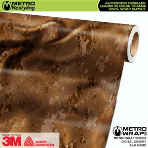 Digital Desert Silk Camouflage Car Wrap Vinyl