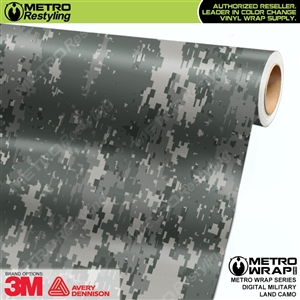 Digital Military Land Camouflage Car Wrap Vinyl