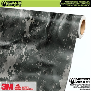 Digital Military Silk Camouflage Car Wrap Vinyl