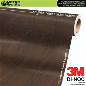3M DI-NOC Dark Tamo WOOD GRAIN VINYL