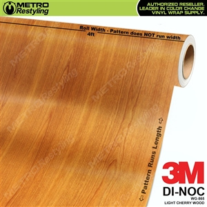light cherry wood grain vinyl