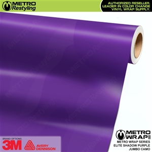 Elite Shadow Purple Jumbo Camouflage Vinyl Car Wrap Film