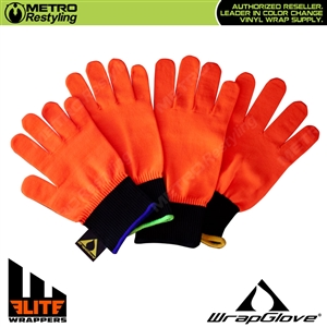 Elite Wrappers High-Performance Wrap Glove by WrapGlove in Neon Orange
