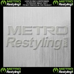 brushed aluminum vinyl