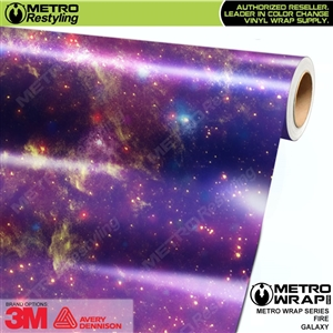 Metro Fire Galaxy Vinyl Car Wrap Film