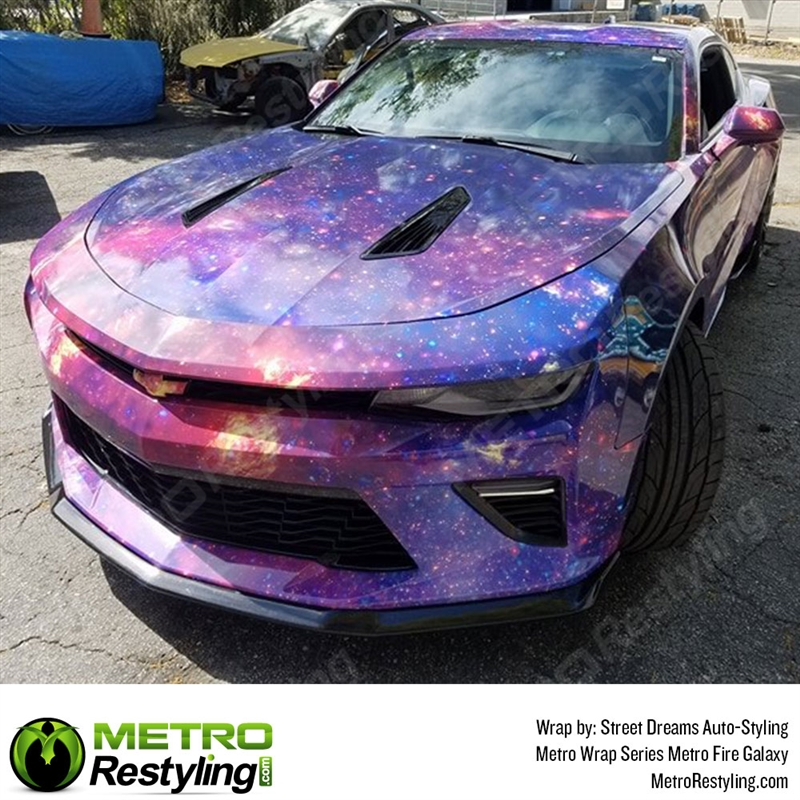Metro Fire Galaxy Vinyl Vehicle Wrap Film Shop Online Or