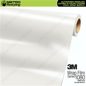 3M 1080 G10 Gloss White vinyl car wrapping film