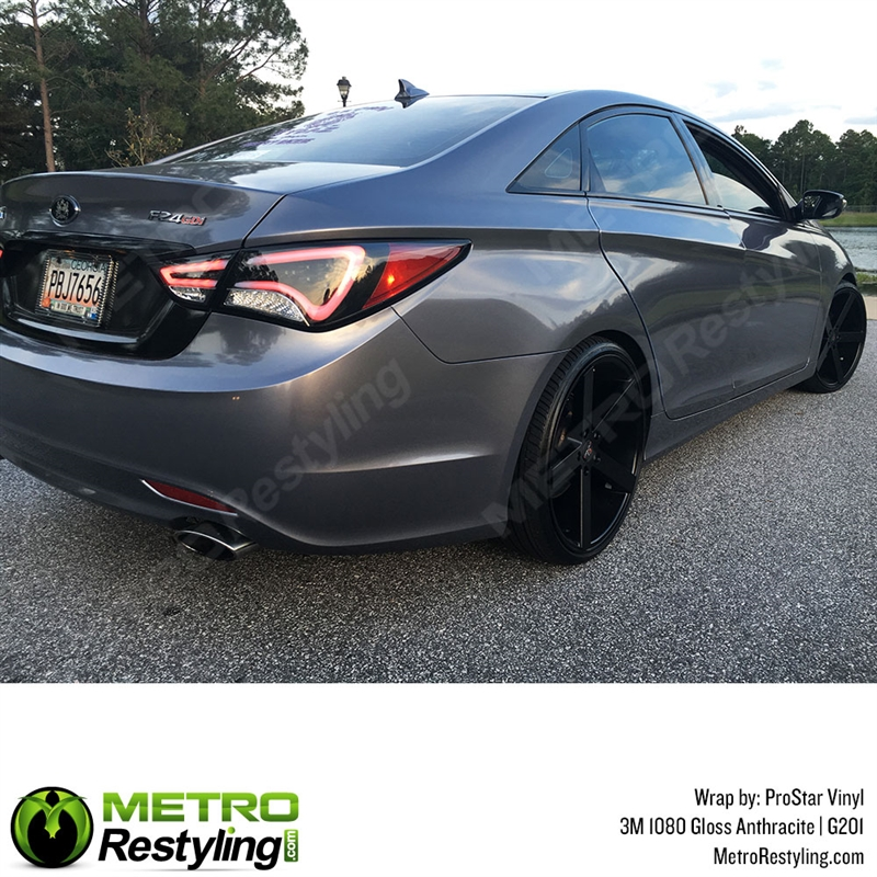 3m 1080 G201 Gloss Anthracite Car Wrap Vinyl Is A Great