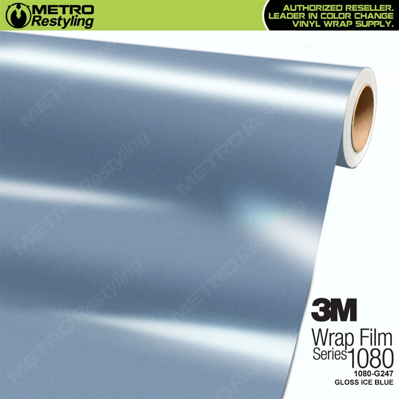 3m 1080 G247 Gloss Ice Blue Car Wrap Vinyl Is A Great Way
