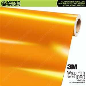 3M 1080 G25 Gloss Sunflower vinyl car wrapping film