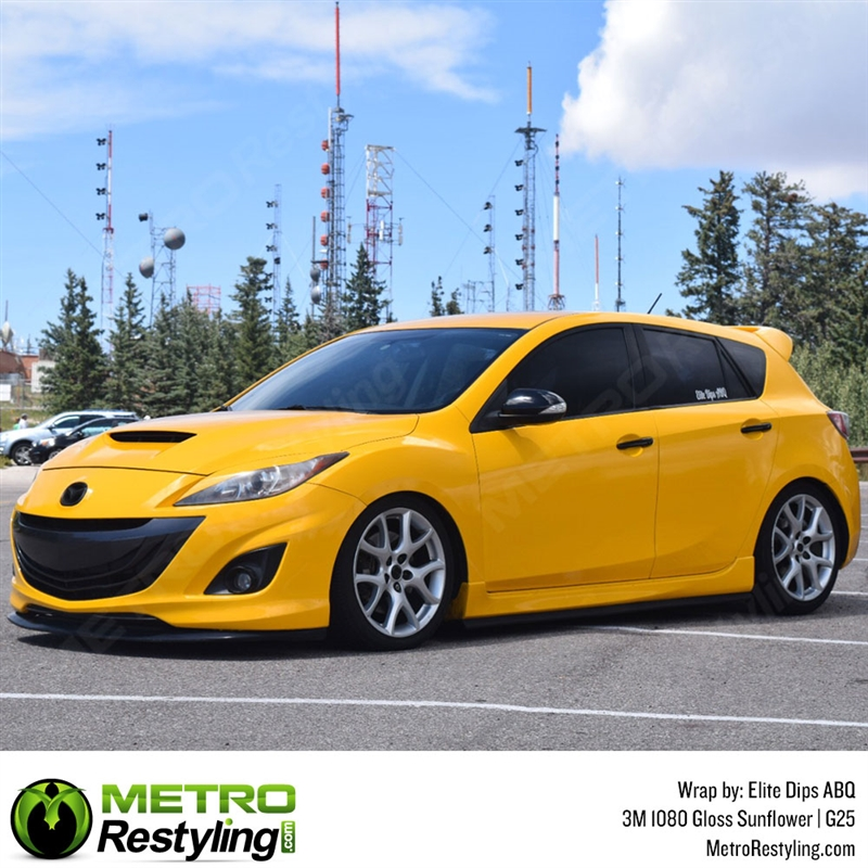 3m 1080 G25 Gloss Sunflower Car Wrap Vinyl Is A Great Way To