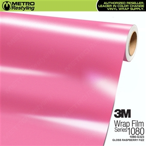 3M 1080 G323 Gloss Raspberry Fizz vinyl car wrapping film