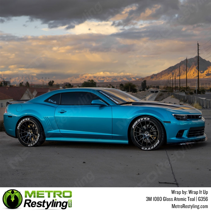 size 40 f3cb2 a655b 3M 1080 G356 Gloss Atomic Teal car wrap vinyl is a great way to ...