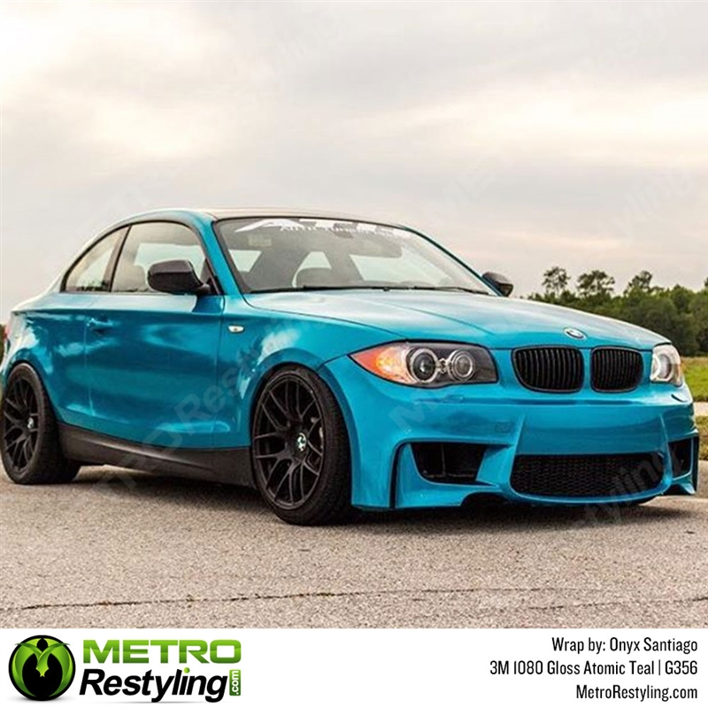 3m 1080 G356 Gloss Atomic Teal Car Wrap Vinyl Is A Great