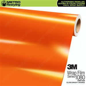 3M 1080 G54 Gloss Bright Orange vinyl car wrapping film