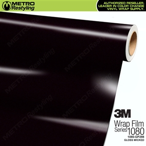 3M 1080 GP298 Gloss Wicked vinyl car wrapping film