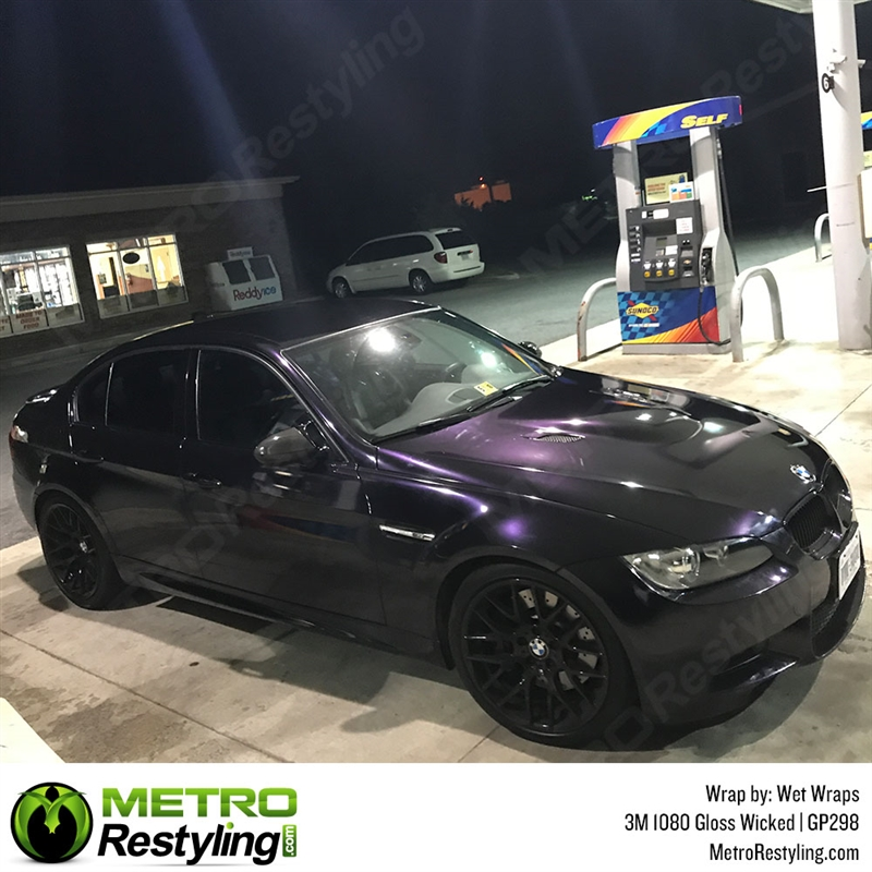 3M 1080 GP298 Gloss Wicked car wrap vinyl is a great way to change ...