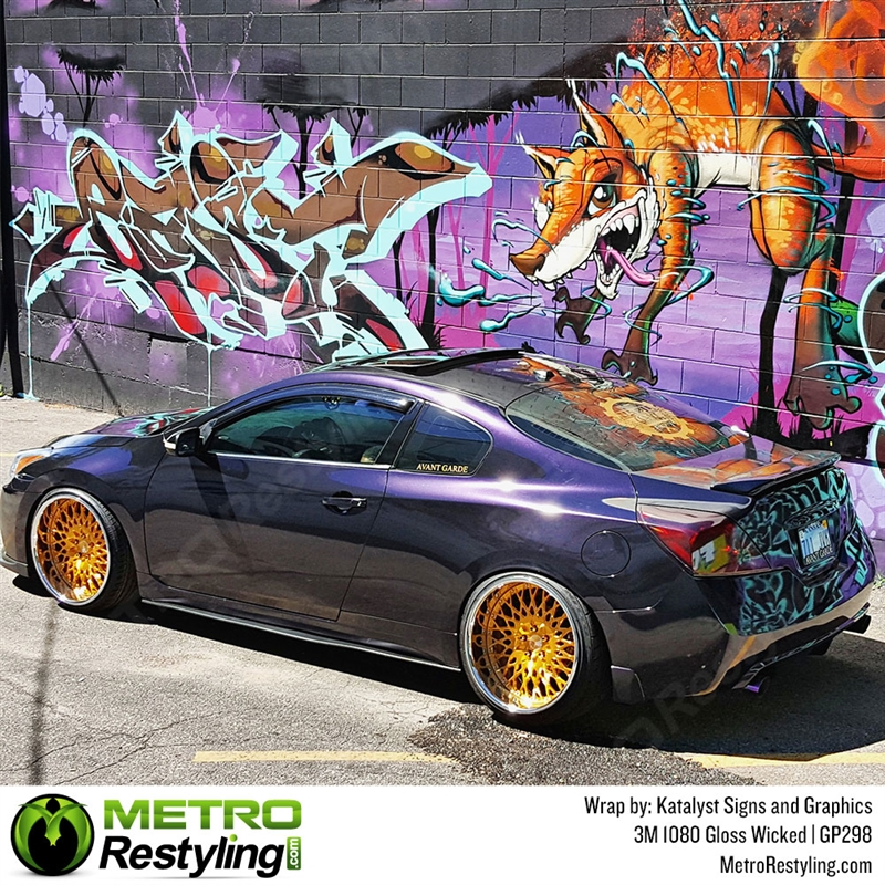 3M 1080 GP298 GLOSS WICKED Vinyl Vehicle Car Wrap Decal Film Sheet Roll