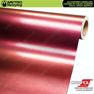 ORACAL Series 970RA-320 Gloss Cranberry Premium Shift Effect Vinyl Car Wrap