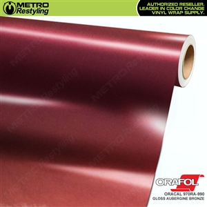 oracal gloss aubergine bronze