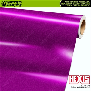 Hexis HX20518B Gloss Manga Purple car vinyl wrap