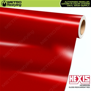 Hexis Gloss Redcurrent Red Iridescent Vinyl Wrap | HX30RGOB