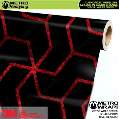 Metro Diverse Series Interruption Camouflage Vinyl Car Wrap Film