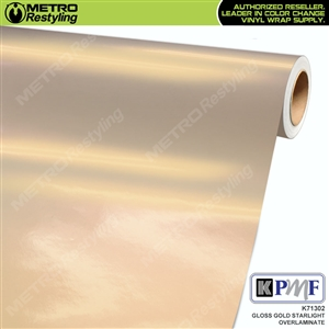 KPMF Speciality Over-Laminating Films Gold Starlight