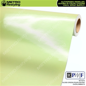 KPMF Speciality Over-Laminating Films Green Gloss Pearlescent